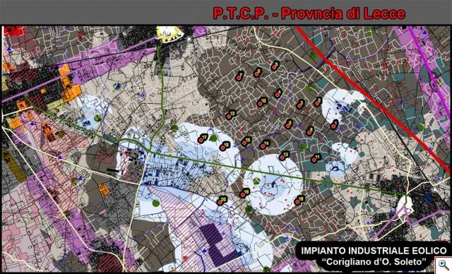 (Figura 4) P.T.C.P. di Lecce.