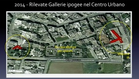 Parte degli oltre € 500.000,00 di spazi finanziari concessi al Comune di Cutrofiano, siano usati per il completamento delle indagini geognostiche nel centro abitato di Cutrofiano, al fine di individuare altre eventuali cavità sotterranee.